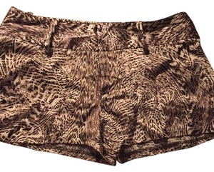 Alice + Olivia Dress Shorts Brown