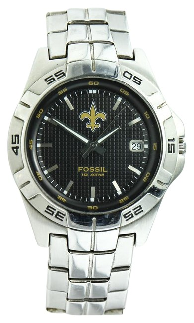 Fossil * Nfl 1109 Stainless Steel Watch Fossil * Nfl 1109 Stainless Steel Watch Image 1