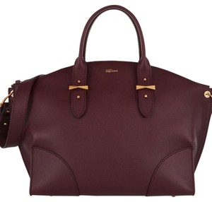 Alexander McQueen Satchel in Burgundy