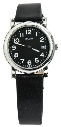 Preload https://item3.tradesy.com/images/bulova-unisex-leather-watch-19651542-0-1.jpg?width=440&height=440