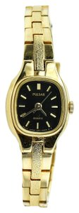 Pulsar * Pulsar Gold Tone Ladies Watch