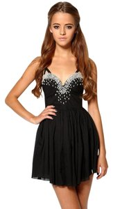 Preload https://item5.tradesy.com/images/one-teaspoon-black-just-kiss-fitted-bodice-pearl-laden-new-mini-night-out-dress-size-4-s-19651654-0-1.jpg?width=400&height=650