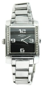 Rotary Watches * Revelation Dual Face & Time Stainless Steel Watch