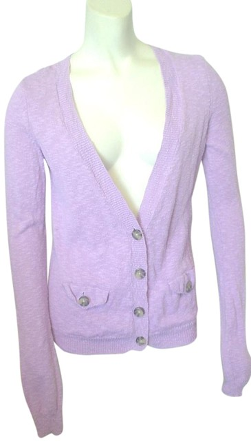 Preload https://item2.tradesy.com/images/american-eagle-outfitters-purple-button-down-cardigan-sweaterpullover-size-4-s-19651711-0-1.jpg?width=400&height=650
