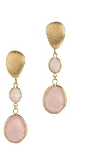 Rivka Friedman Rivka Friedman 18K Clad Quartz Earrings