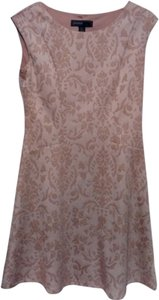 Donna Ricco short dress Cream and Beige on Tradesy