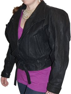 Berman's Leather Biker Babe Leather Jacket