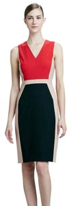Rachel Roy Color-blocking Wool Sheath Dress