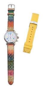 Michele Authentic Michele Watch, Extra Strap