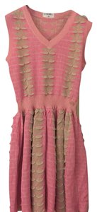 Chanel short dress Pink on Tradesy
