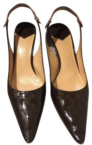 Louis Vuitton Sling Back brown Pumps
