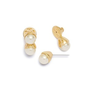 Tory Burch Pearl Bud Front Back