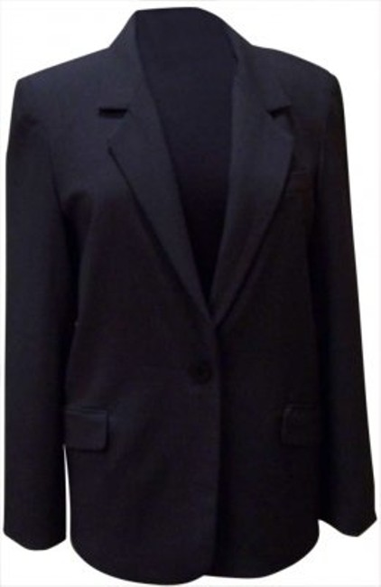 Kenneth Cole Charcoal Blazer Image 1