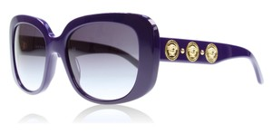 Versace NEW VERSACE (4284) GOLD MEDUSA DESIGNER SUNGLASSES, MADE IN ITALY