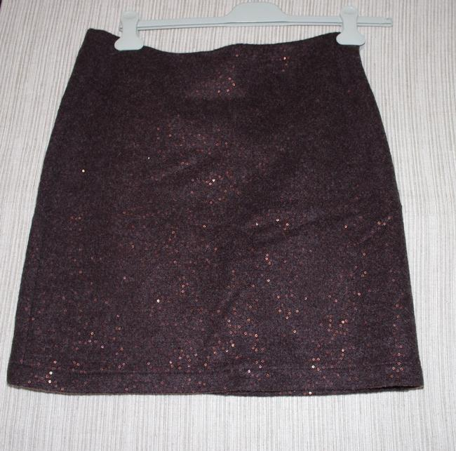 J. Jill Mini Skirt brown