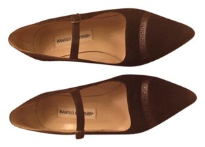 Manolo Blahnik Rum Pumps