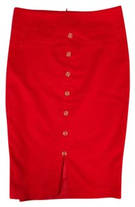 Review Pencil Skirt Red