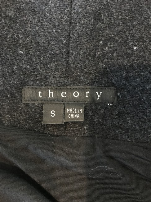 Theory Comfy Wool Warm Leather Jacket