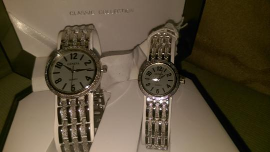 Geneva GENEVA SET OF MENS AND WOMANS WATCHES. SALE!!!!!!
