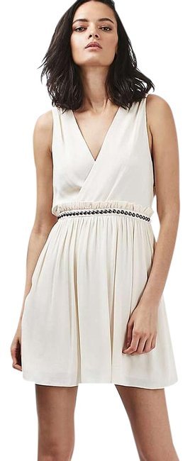 Preload https://img-static.tradesy.com/item/19652461/topshop-cream-studded-skater-style-sundress-knee-length-night-out-dress-size-6-s-0-1-650-650.jpg