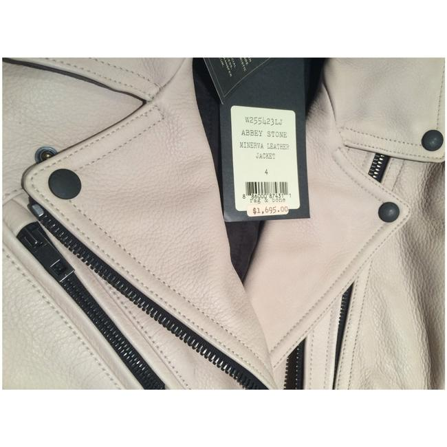 Rag & Bone Beige Leather Jacket