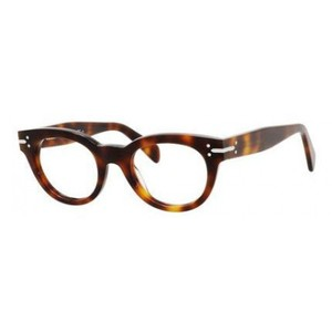 Cline NEW Celine CL 41336 Brown Rounded Eyeglasses Frames