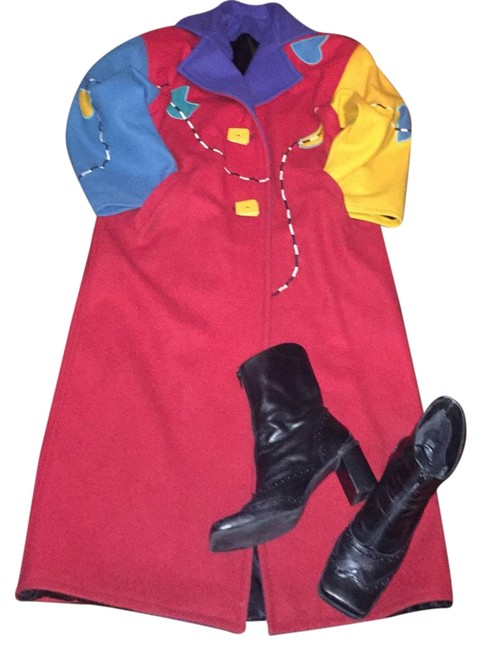 Preload https://item5.tradesy.com/images/multicolor-trench-coat-size-12-l-19652829-0-1.jpg?width=400&height=650