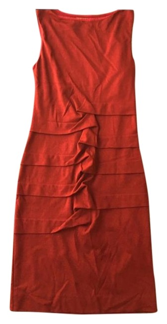 Preload https://img-static.tradesy.com/item/19652857/nicole-miller-red-mid-length-cocktail-dress-size-8-m-0-1-650-650.jpg