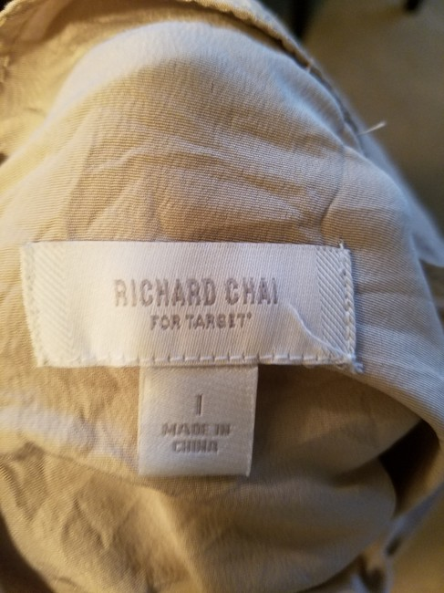 Richard Chai for Target short dress Purple/ nude Two-tone on Tradesy