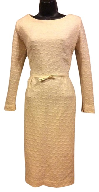 Preload https://item1.tradesy.com/images/ivory-cashmere-wiggle-knee-length-cocktail-dress-size-6-s-19652905-0-1.jpg?width=400&height=650