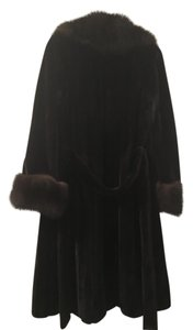 Russian sable and mink Fur Coat