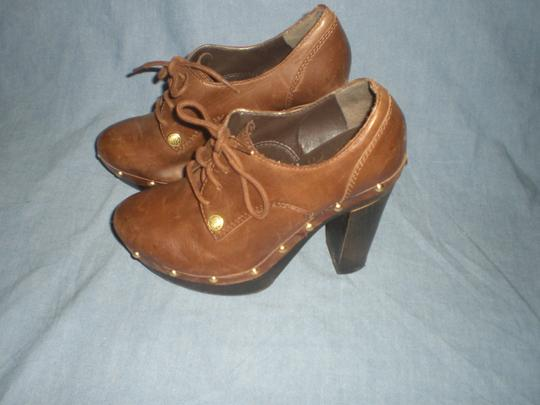 Vince Camuto Platforms Leather High Heeled brown Boots