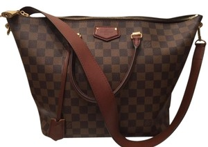 Louis Vuitton Not In Stores Made In France Tote in Damier Brown/tan