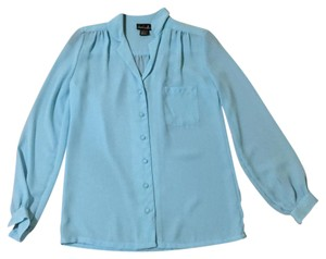 David matthew Button Down Shirt Baby blue