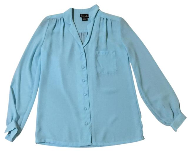 Preload https://img-static.tradesy.com/item/19652971/baby-blue-button-down-top-size-6-s-0-1-650-650.jpg