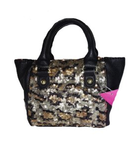Betsey Johnson Sequin Cross Body Bag