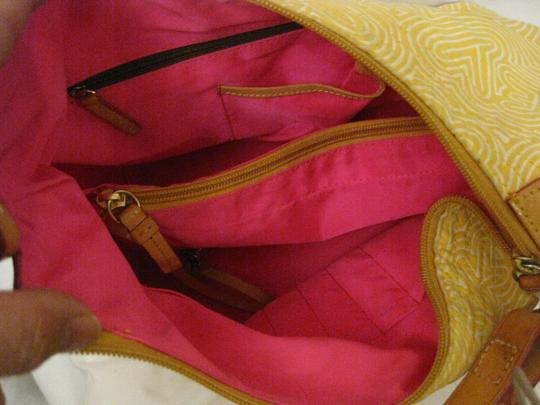 Dooney & Bourke Satchel in yellow