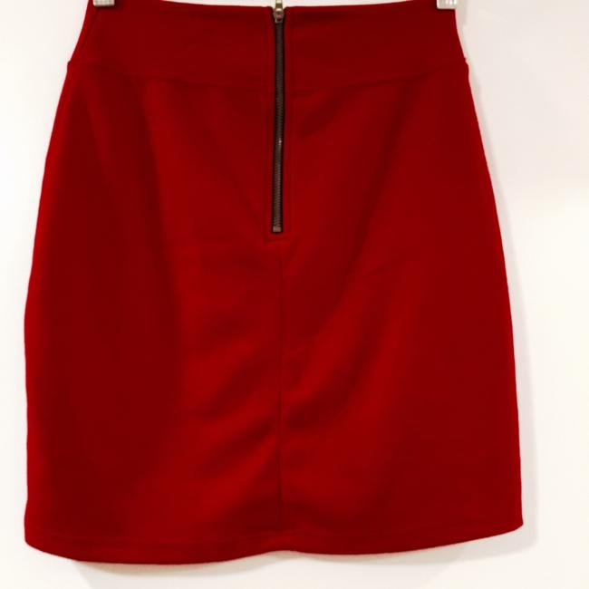 Urban Outfitters Mini Skirt Red