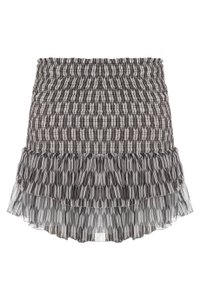 Étoile Isabel Marant Black White Striped Skirt