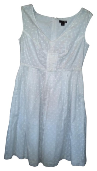 Item - White 2 Bundle Knee Length Short Casual Dress Size 6 (S)