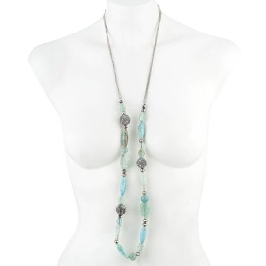 Alexis Bittar Pave Sphere Beaded Strand Necklace Image 1