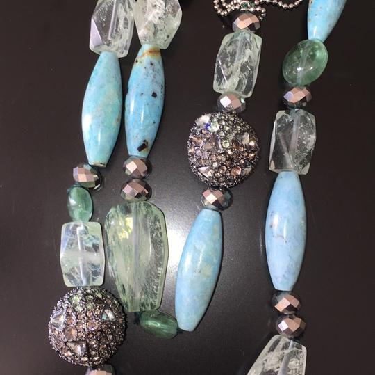 Alexis Bittar Pave Sphere Beaded Strand Necklace Image 5