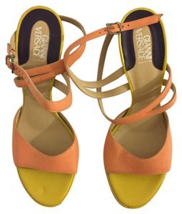 Versace Orange and yellow Sandals