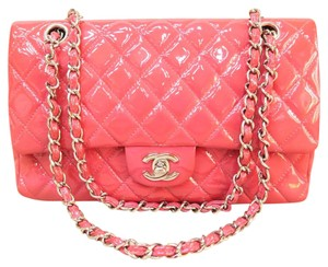 Chanel Cf Medium Vernis Shoulder Bag