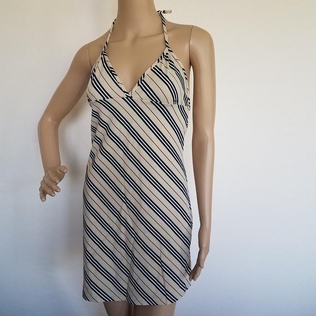 Burberry short dress Beige, Black Nova Check Plaid Monogram Sundress Swim Cover Up on Tradesy Image 1