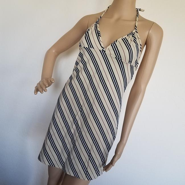 Burberry short dress Beige, Black Nova Check Plaid Monogram Sundress Swim Cover Up on Tradesy Image 2