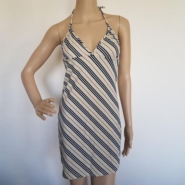 Burberry short dress Beige, Black Nova Check Plaid Monogram Sundress Swim Cover Up on Tradesy Image 5