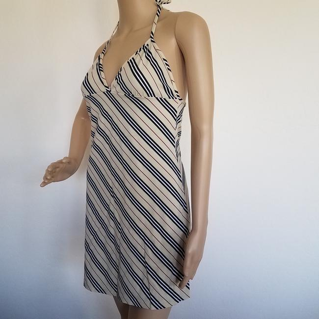 Burberry short dress Beige, Black Nova Check Plaid Monogram Sundress Swim Cover Up on Tradesy Image 7
