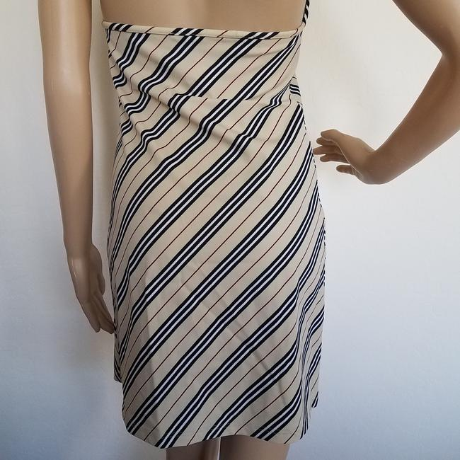 Burberry short dress Beige, Black Nova Check Plaid Monogram Sundress Swim Cover Up on Tradesy Image 9