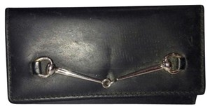Gucci GGSL94 Gucci Key Case Golder Horsebit Chain Wallet
